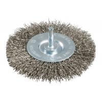 Круглая проволочная щетка METABO, рифленая нержавеющая сталь (630550000)